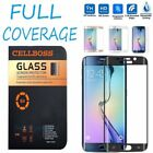 Full Cover Tempered Glass Curved Screen Protector for Samsung Galaxy S6 Edge BP