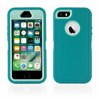 Heavy Duty Shock Proof iPhone 5 5S, SE Case Cover with built in