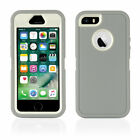 Heavy Duty Shock Proof iPhone 5 5S, SE Case Cover with built in Screen Protector <br/> FREE DELIVERY WORLDWIDE