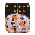 Ohbabyka Baby Diaper Washable Reusable All-in-two AI2 Infant Baby Pocket Diaper