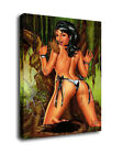 Art Oil Painting Print On Canvas Home Decor Nudes girls Framed