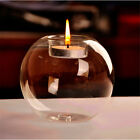8Pcs Candlestick Glass Ball Candle Tea Light Holder Bar Party Home Decoration