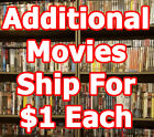 dvd movies list - HUGE DVD List! 200+Titles M-R - Combine Shipping! $3 & $1ea add. FAST SHIPPING