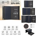 14W 21W Portable Solar Sun Charger Panel Power Backup Supply Foldable Dual USB L