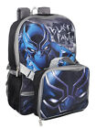 Black Panther Backpack with Insulated Lunchbox