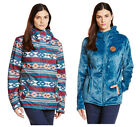 Roxy Jetty 3 in 1 Ethnikstripe Legion Blue Women's Snowboard Ski Jacket NEW