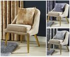 Crushed Velvet Luxury Cushion Covers 17 x 17 inch for Living Room Sofa Chair Bed
