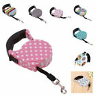 Retractable Dog Leash Cute Cord Nylon Tape Walking Lead Rope For Pet Cat Puppy
