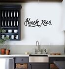 Bulwark Sticker Vinyl Decal Snack Bar Decor Kitchen Home Food Unique Ability (g111)