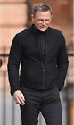 James Bond Spectre 100% Genuine Lamb Black Suede Leather Jacket with Two Way Zip £72.19 GBP on eBay