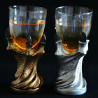 silver wine goblet - US Vintage Dragon Claw Glass Holder Wine Goblet Replica Gothic Beer Drink Cup