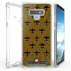 For Galaxy Note 9 SM-N960 Bumper Shockproof Case Sky Combat Planes