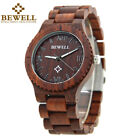 Colorful  Wood Watch for Men Wooden Strap Male Timepieces Quartz Wrist  Watches image
