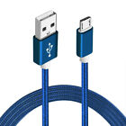 Strong Braided Metal Micro USB Fast Charge Data Cable for NGM Smartphone