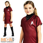 Star Trek Uhura Girls Fancy Dress Sci Fi Film Kids Child Space Childrens Costume on eBay