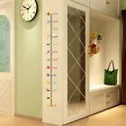 Removable 3d Height Chart Measure Child Growth Wall Sticker Kids Nursery Decor