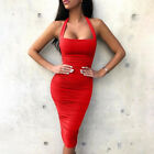 Sexy Fashion Women Off Shoulder Bodycon Party Evening Cocktail Mini Dress Club