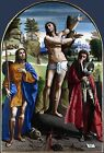 Photo/Poster - Saints Sebastian Roch And Demetrius - Ortolano Ca 1487 Ferrara Af