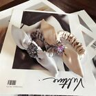 Women's Crystal Bow Hair Band Rope Tie Ring Elastic Ponytail Holder Scrunchies