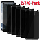 4-Pack Samsung Galaxy S7 Edge Privacy Anti-Spy Tempered Glass Screen Protector