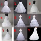 Bridal Hoop Petticoat Crinoline Underskirt Wedding Prom Dress Ball Gown Slips