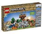 LEGO Minecraft The Crafting Box 2.0 2017 (21135) FAST FREE SHIPPING