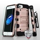 3 in 1 Storm Tank Military Case w/Screen Protector - iPhone 7/8 Plus