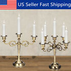 3 5 Arms Metal Crafts Candelabra Alloy Candle Holder Stand Wedding Home Decor