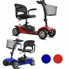 4 Wheel Power Scooter Electric Drive Scout Mobility Disability Elderly 2color MA