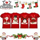 Unisex Men Christmas Xmas Novelty T Shirt Tee TOP Santa Snowman Reindeer Penguin