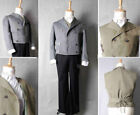 NEW Sweeney Todd Movie Cosplay Costume Jacket Vest Shirt Pants Full Set  D.1063