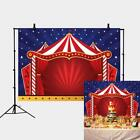 Vinyl Circus Photo Landscape Backdrop Theater Jokes Clown Background Party Decor