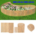 Natural Bamboo Garden Fence Outdoor Privacy Screen Screening Panel Roll 30/50cm