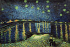Starry Night Over the Rhone - Vincent Van Gogh - Fine Art Print (Various Sizes)