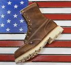"""Thorogood 8"""" American Heritage MOC Safety Steel Toe Boots [804-4378] Made in USA"""