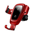 Baseus Car Holder Qi Wireless Fast Charger For iPhone Samsung S8/S9 Phone Holder