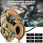 K1 Stereo Bass Surround Gaming Headset for PS4 New Xbox One PC With Mic QC