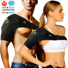Adjustable Shoulder Support Back Brace Rotator Cuff AC Joint Dislocated Strap A $10.79 USD on eBay