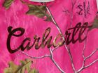 Carhartt girls A-shirt pink realtree camouflage w/'CARHARTT' in gold