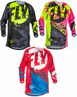 Fly Racing Mens Youth Kinetic Outlaw Dirt Bike Jersey MX ATV Offroad Off-Road