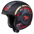 HJC Black/Red IS-5 Star Wars Poe Dameron Open Face Motorcycle Helmet DOT $179.99 USD on eBay