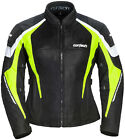 Cortech Womens Black/Hi-Viz GX-Sport Air 5.0 Textile Mesh Motorcycle Jacket 2018
