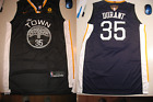 New Golden State Warriors Kevin Durant 35 Swingman The Town Finals Jersey