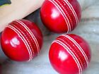 Plain English Leather Cricket Ball Hand Stitched Long Lasting (Pack of 1)
