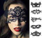 Halloween Sexy Lace Eye Mask for women Black Mask Masquerade Party Dress Costume
