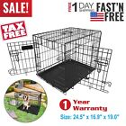 """Extra Large Dog Crate Kennel 48""""/42""""/36""""/30""""/24"""" Folding Pet Cage Metal US SHIP <br/> USA Seller✔Same Day Delivery✔30 Days Return Guarantee"""