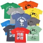 NWT Toddler Boy Classic Snoopy T-shirts - Size  2T, 3T, 4T,