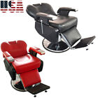 Vintage Salon Hair Barber Chair Equipment Reclining Durability Antique Classic