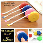 """60""""/150cm Tape Measure Body Measuring Ruler Sewing Cloth Tailor Soft Flat"""