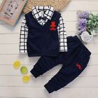 Spring Autumn Baby Boys Children Clothing Products Kids Clothes T-shirts Pants